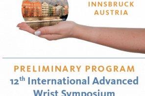 12th International Advanced Wrist Symposium